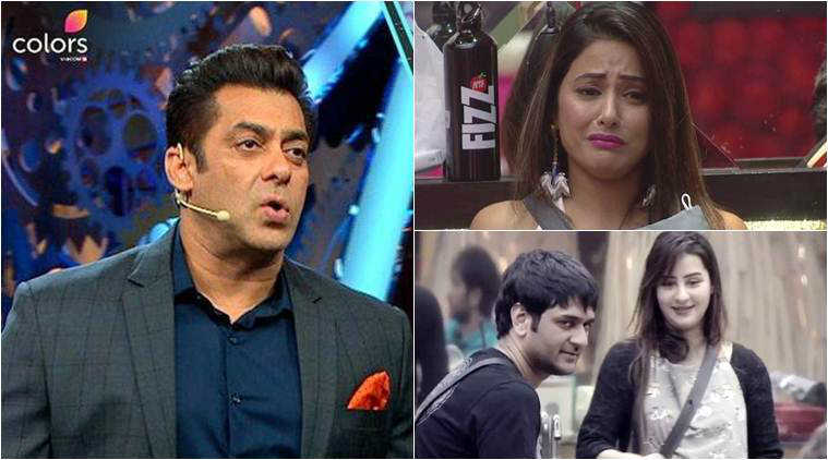 all that happened in bigg boss 11 in november