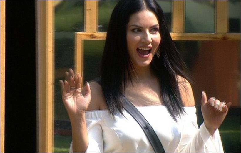 Vikas covers Hina in chocolate sauce in Sunny Leone's task