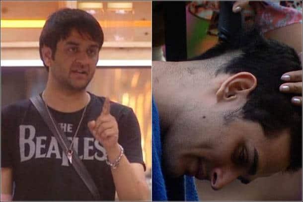 Priyank shaves head, priyank hiten, friendship test bigg boss 11, bigg boss nominations