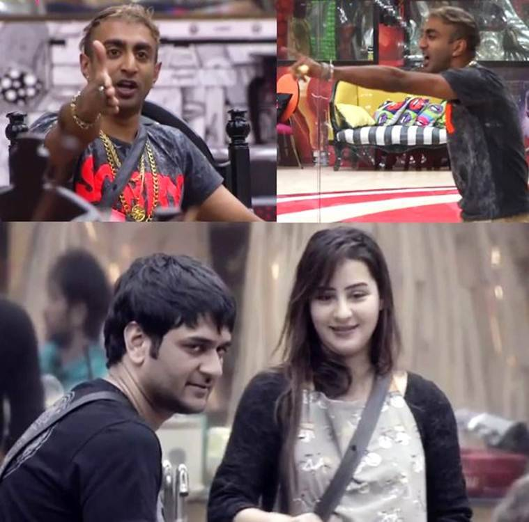 akash dadlani fights with shilpa shinde