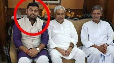 JD(U) leader, accused in liquor case, expelled for posting photograph with Bihar CM Nitish Kumar