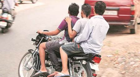 From North Delhi to Central, men on bike go on robbery spree