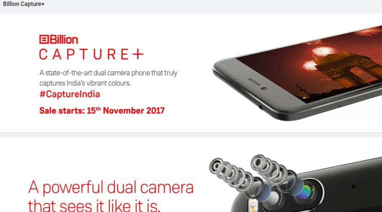 Flipkart's Billion Capture Plus smartphone: Here are the specifications, price