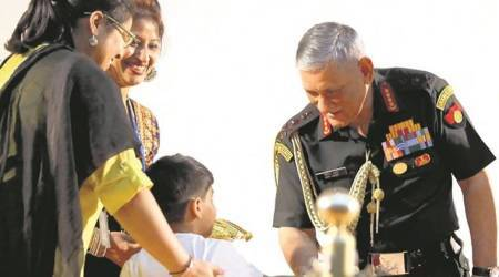 Want lessons in schools on gallantry awardees' valour, approached HRD about it: GeneralRawat