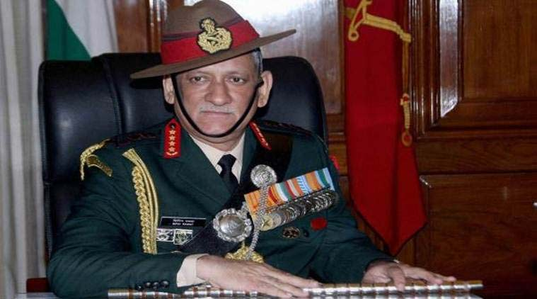 Bipin Rawat omfuture warfare