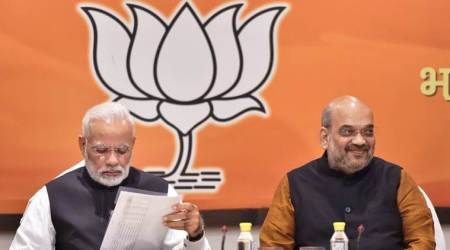 Gujarat Assembly Election, BJP candidate list, Rahul Gandhi, Amit Shah, PM Modi, Gujarat elections, Congress candidate list, indian express