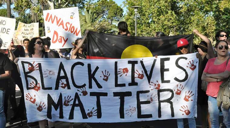 Black Lives Matter Australia racism world news