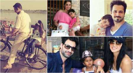 Happy Children's Day: Akshay Kumar, Sunny Leone, Emraan Hashmi and others celebrate with their kids