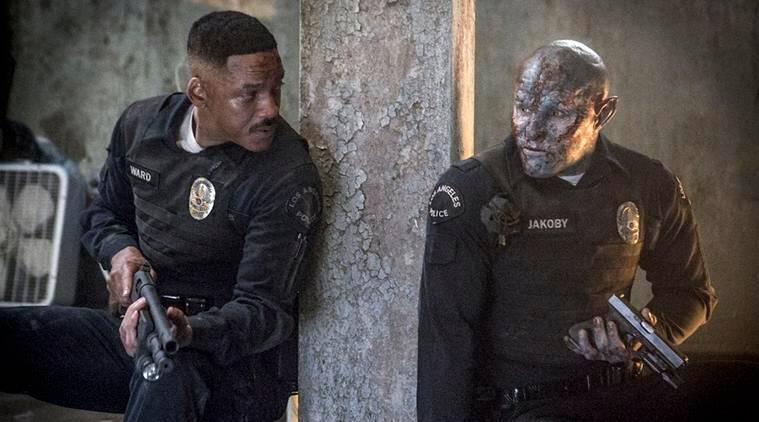 netflix film bright stars will smith and will release on november 22