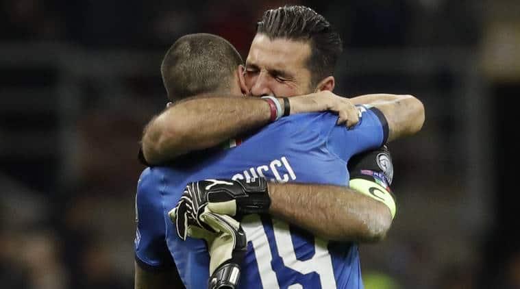 Gianluigi Buffon, Gianluigi Buffon after Italy's loss, Italy vs Sweden, Italy fail to qualify 2018 Fifa world cup, buffon retirement from international football, buffon retirement