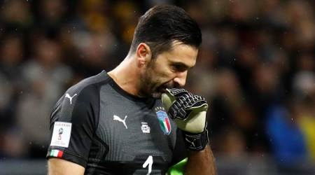 Italy risk missing World Cup after losing 1-0 to Sweden