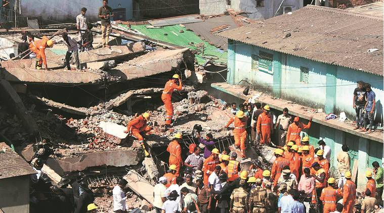 One killed in Thane building collapse