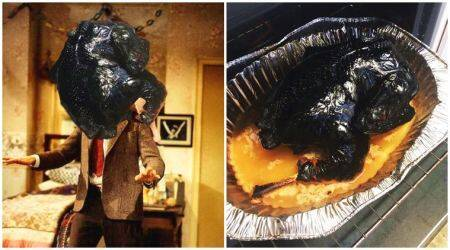 This BURNT Thanksgiving turkey was ROASTED on Twitter, and then twisted into hilarious memes