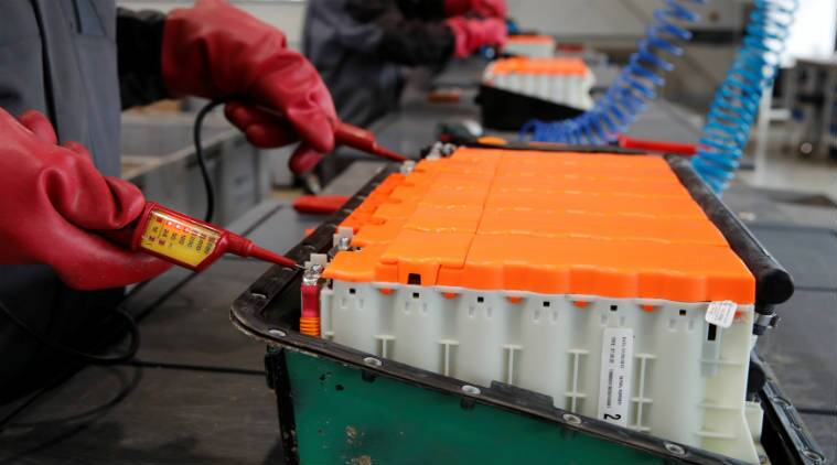 Recycling companies are increasingly being involved in setting up facilities to reuse lithium an cobalt, essentials in electric car batteries