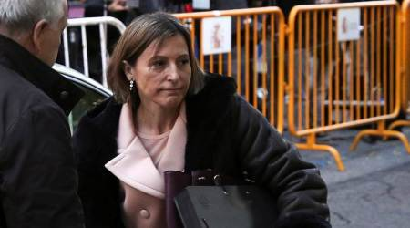 Catalan parliament speaker Carme Forcadell detained over independence bid