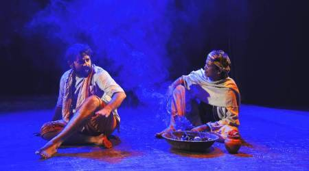 MK Raina on his play, Kafan-Kafan Chor, which centres around political and domestic conflicts
