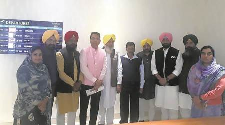 Fight local body polls in Punjab on party symbol, Arvind Kejriwal tells AAP leaders