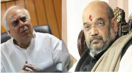 Prove that Gujarat leads rank in any sector, Kapil Sibal challenges Amit Shah
