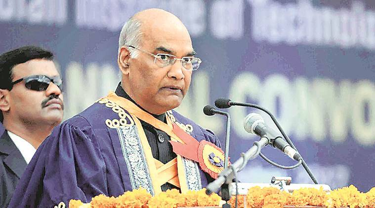 Kovind asks IIT Delhi to involve alumni to teach short courses