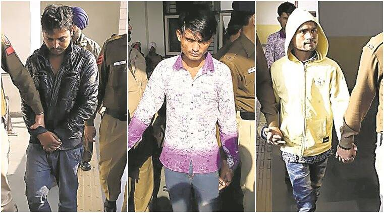chandigarh gangrape, chandigarh gangrape accused, 22 yr old woman rape, rape accused question, Mohammed Irfan, Mohammed Garbi, poppu, kismat ali, chandigarh gangrape latest news, indian express