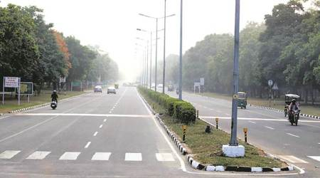 chandigarh, chandigarh weather, chandigarh weather today, climate condition in chandigarh, chandigarh city news, indian express news