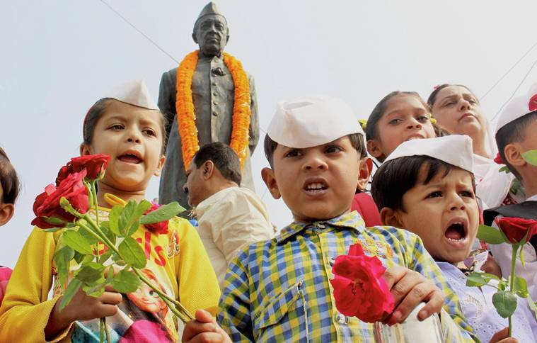 children s day, childrens day, jawaharlal nehru, jawaharlal nehru quotes, nehru quotes, childrens day nehru, nehru education education news, indian express, november 14