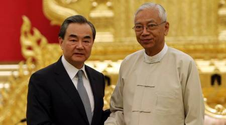 China foreign minister discusses Rohingya crisis with Myanmar leaders