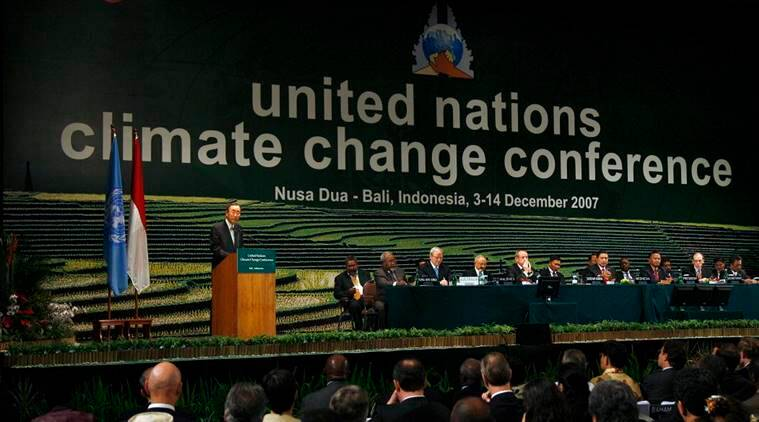 climate change, un climate change conference, india, china, pre-2020 actions, amission cuts, indian express, express online