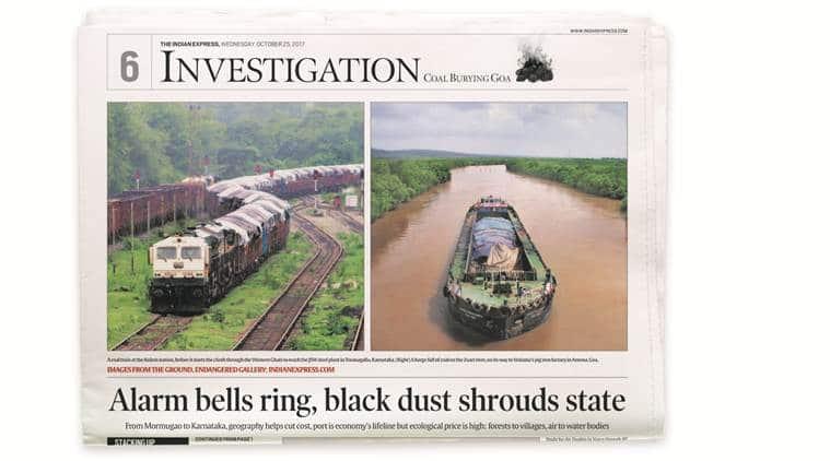 coal, Piyush Goyal, Express Investigation, Coal Goa investigation, coal burying Goa, Railway minister