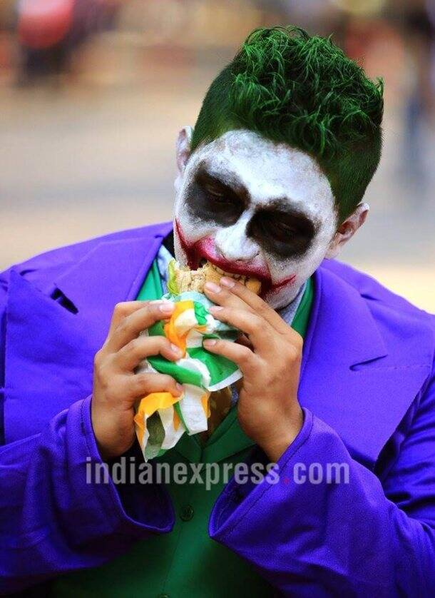 comic con, comic con mumbai, comic con goregaon, comic con 2017, comic con pictures, indian express, indian express news
