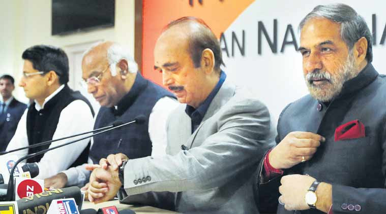 BJP, Congress fight over Winter Session of Parliament