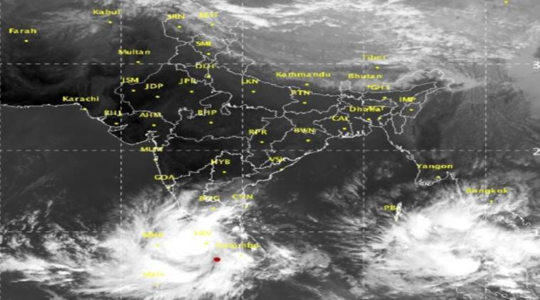 Cyclone Ockhi: Heavy Rains in South Kerala, 1 Killed
