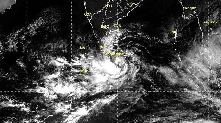 Cyclone 'Ockhi' alert for Tamil Nadu, Kerala; schools and colleges closed