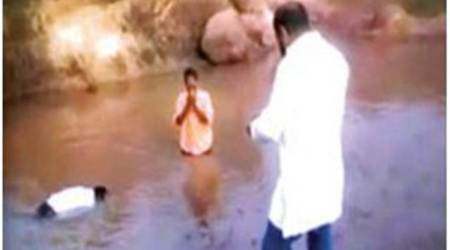 Telangana: Former BJP leader forces two Dalit youths into dirty pond as 'punishment'