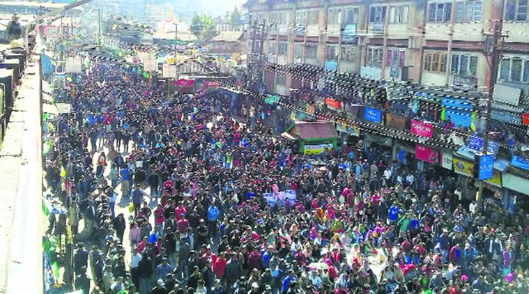 Gurung had asked public to stay away: Many attend Tamang-Thapa faction rally in Darjeeling