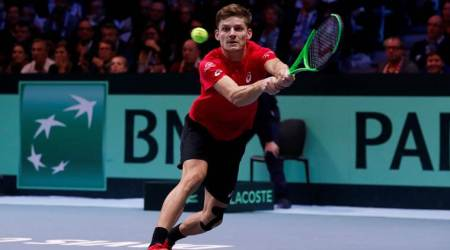 Davis Cup, Davis Cup final, David Goffin, Jo-Wilfried Tsonga, Belgium, France, sports news, tennis, Indian Express