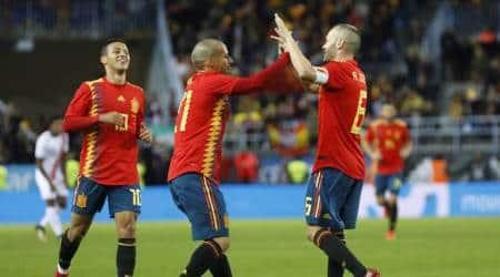 David Silva leads Spain's assault on CostaRica
