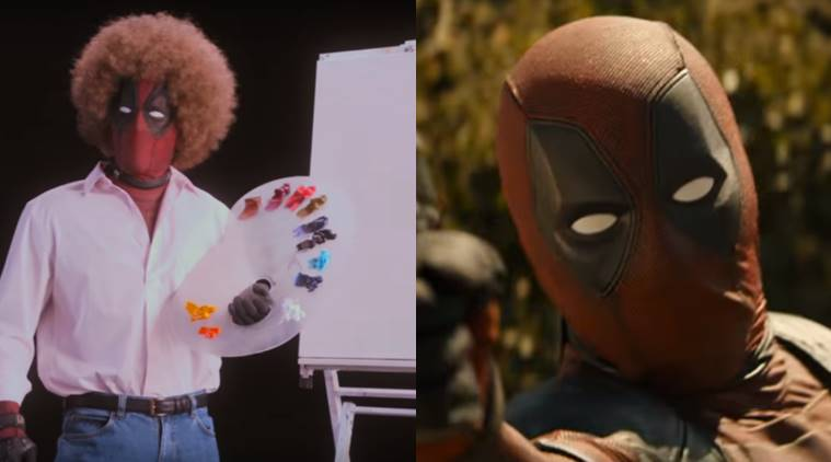 Relax and Paint Some Fluffy Clouds with New 'Deadpool 2' Teaser