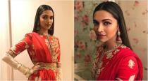 Padmavati promotion: Deepika Padukone steals the show in yet another red ensemble at Bigg Boss 11