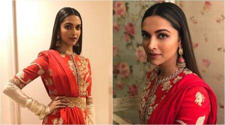 Padmavati promotion: Deepika Padukone steals the show in yet another red ensemble at Bigg Boss11