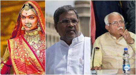Padmavati: Karnataka CM asks Haryana CM to take action against those threatening Deepika