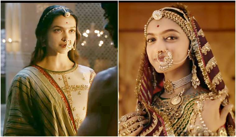 deepika padukone, padmavati, deepika padukone padmavti look, deepika padukone in padmavati, deepika padukone outfits in padmavati, deepika padukone lehenga in padmavati, rimple and harpreet narula, deepika padukone lehengas, padmavati lehengas, deepika padukone ghoomar look, deepika padukone ek dil ek jaan look, deepika padukone style, deepika padukone news, deepika padukone latest photos, indian express, indian express news
