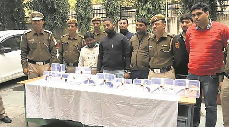 Delhi Police arrests three contract killers, arms cache