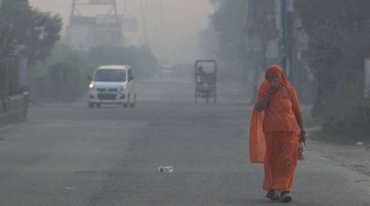 Delhi air pollution, Delhi smog, Delhi pollution, CPCB, Delhi pollution today, Delhi news, Indian Express