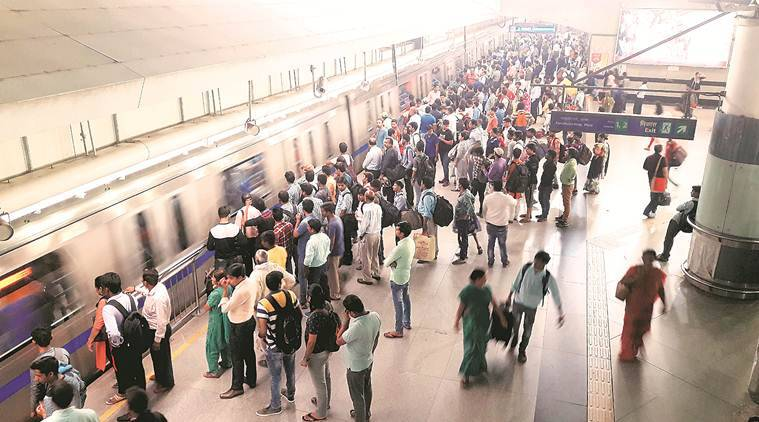 Delhi metro suffers 3 lakh commuters a day post fare hike