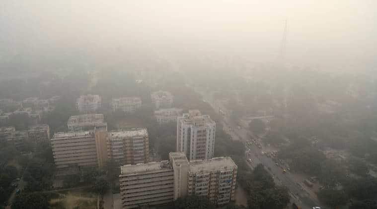 chandigarh air polltion, flights postponed, trains delayed, chandigarh smog, smog, chandigarh weather, chandigarh news, indian express news
