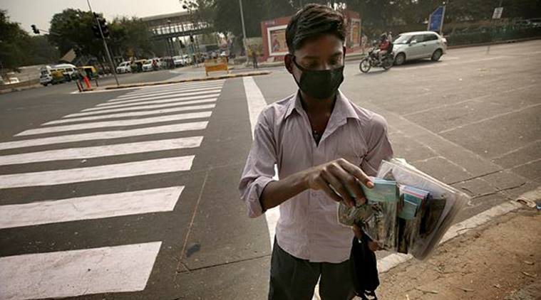 Delhi air quality 'very poor'