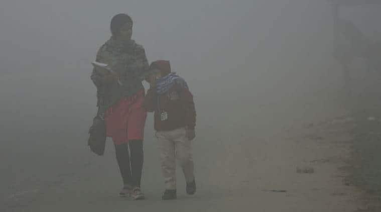 delhi pollution, delhi air pollution, delhi smog, delhi air quality, delhi schools, arvind kejriwal, delhi traffic, delhi weather, delhi news, latest news, indian express
