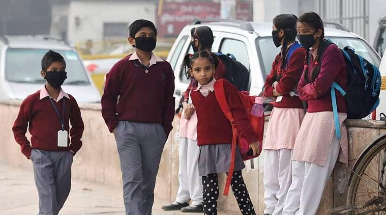Delhi Air pollution, Delhi government, Delhi school, delhi schools outdoor activities, delhi smog, Delhi news, Indian express news