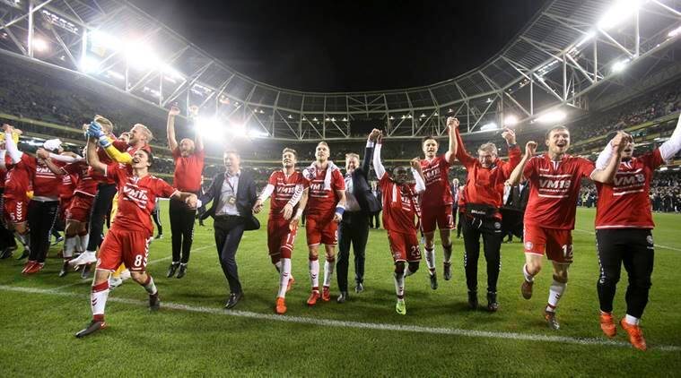 Denmark made to the World Cup for the fifth time in their history.